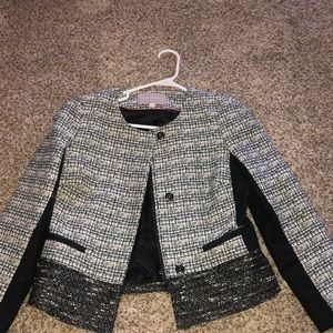 Banana Republic Tweed Jacket Set